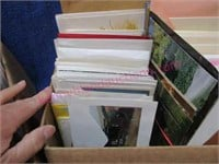 Lot of 2 boxes of greeting cards (new-unused)