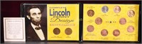 COMPLETE LINCOLN PENNY DESIGN COLLECTION BOOK