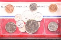1987-D/P US MINT SET