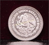 2018 MEXICO 1/20 TROY OUNCE SILVER .999 ROUND