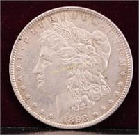 1898 MORGAN SILVER DOLLAR