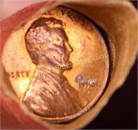 UNSEARCHED ESTATE ROLL OF PENNIES