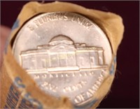 1962-P BU ROLL OF NICKELS