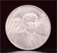 1 TROY OUNCE #TRUMP2020 SILVER .999 ROUND
