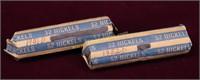 1951-D/52-D NICKEL ROLLS