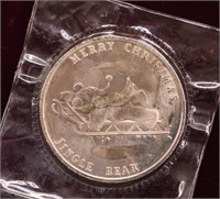 1 TROY OUNCE SILVER .999 ROUND SEALED