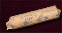 1956-P BU ROLL OF NICKELS