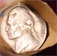 1938-P/39 ROLLS OF NICKELS