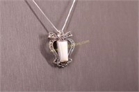MARCASITE STERLING SILVER NECKLACE