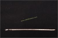 "STERLING SILVER BRACELET 7.5""L"