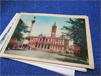 a couple hundred smaller postcards