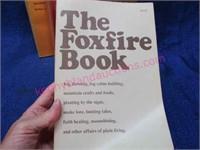 "(4) ""the foxfire book"" set"