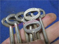 (11) Germany Taylor skeleton keys (uncut) #2