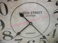 Nice Large Metal Clock (wall or floor)