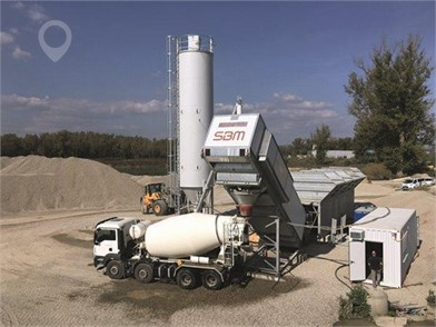 2021 EUROMIX 1600 CONTAINER-MOBILE WET CONCRETE BATCHING PLANT at TruckLocator.ie
