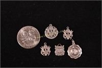 STERLING SILVER COAST GUARD & MORE CHARMS