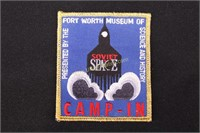 FT WORTH MUSEUM SOVIET SPACE PATCH