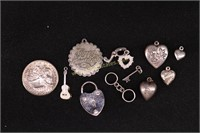 STERLING SILVER VARIOUS CHARMS