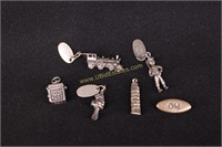 STERLING SILVER CHARMS