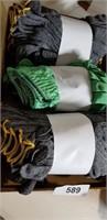 (3) Dozen of Gloves - Green & Gray