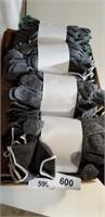 (4) Dozen of Gloves - Gray