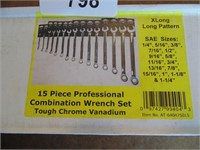 Powerbuilt 15pc. Combination Wrench Set