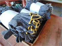 (4) Dozen of Gloves - Gray