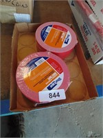 (2) Rows of Red Duct Tape
