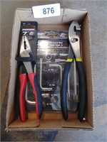 Pliers & L Type Star Wrench Set