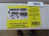 "Powerbuilt 54pc. 3/8"" Drive Socket Set"