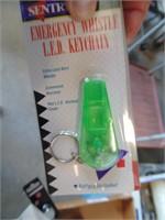 (~12) Emergency Whistle Key Chains