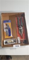 Tin Snips, 440 Stainless Pocket Knife, +