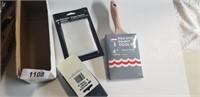 """4"""" Paint Brush, Edger Refills, Sanding Block"""