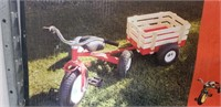 Valley All Terrain Tricycle w/ Wagon (Red)