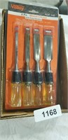 4pc. Wood Chisel Set