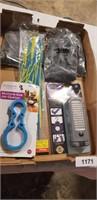 LED Light, Zip Ties, Rubber Gloves, Jar Opener