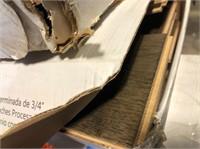 (3) Boxes of Blue Ridge Hardwood Flooring