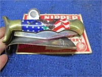 pocket knife -nipper pinfeather picker -shoe horn