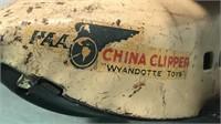 "Antique Wyandotte Toys Metal ""China Clipper"""