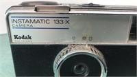 Vintage Kodak Instamatic 133-x Camera appears