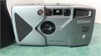 Nikon Nuvis A20 35mm Camera With Case