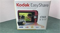 Kodak EasyShare C143 Digital Camera with case,