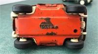 "2 Vintage Tonka Metal Dune Buggy Toys 4"" Long"
