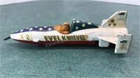 1976 Ideal Evel Knieval X-2 Sky Cycle Metal Toy