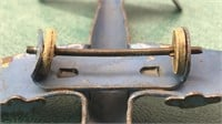 Antique Stamped Metal Toy Airplanes 4 1/2 Inch