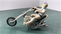 1976 Ideal Evel Knieval Chopper Motorcycle Toy