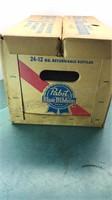 Vintage Pabst Blue Ribbon Beer Case