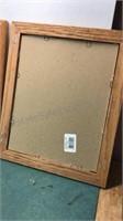 3 Vintage Framed DeGrazia Prints Frames measure