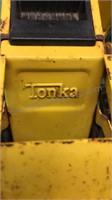 "Vintage Tonka Metal Earth Mover Toy 11"" Long"