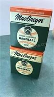 5 Vintage Little League Baseballs 2 brand new in